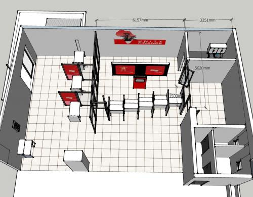 UNITY FINANCE CAIRO ROAD BRANCH - PLAN - WORKSHOP